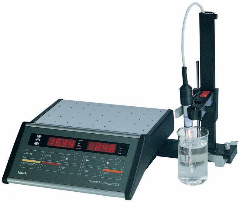 Function Of Conductivity Meter : Knick laboratory conductivity meter alvi