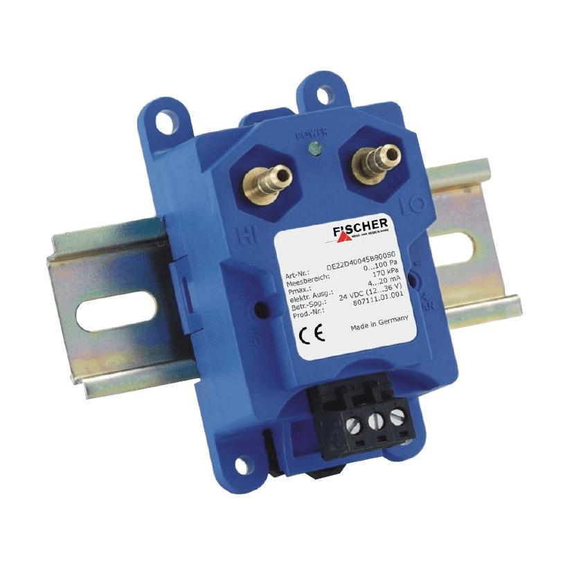 Fischer De22 Differential Pressure Transmitter Alvi
