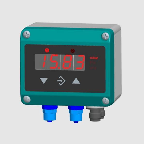 FISCHER - DE45 - Differential Pressure Transmitter