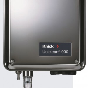 Uniclean 900 electro-pneumatic controller for fully automated pH measurement and cleaning