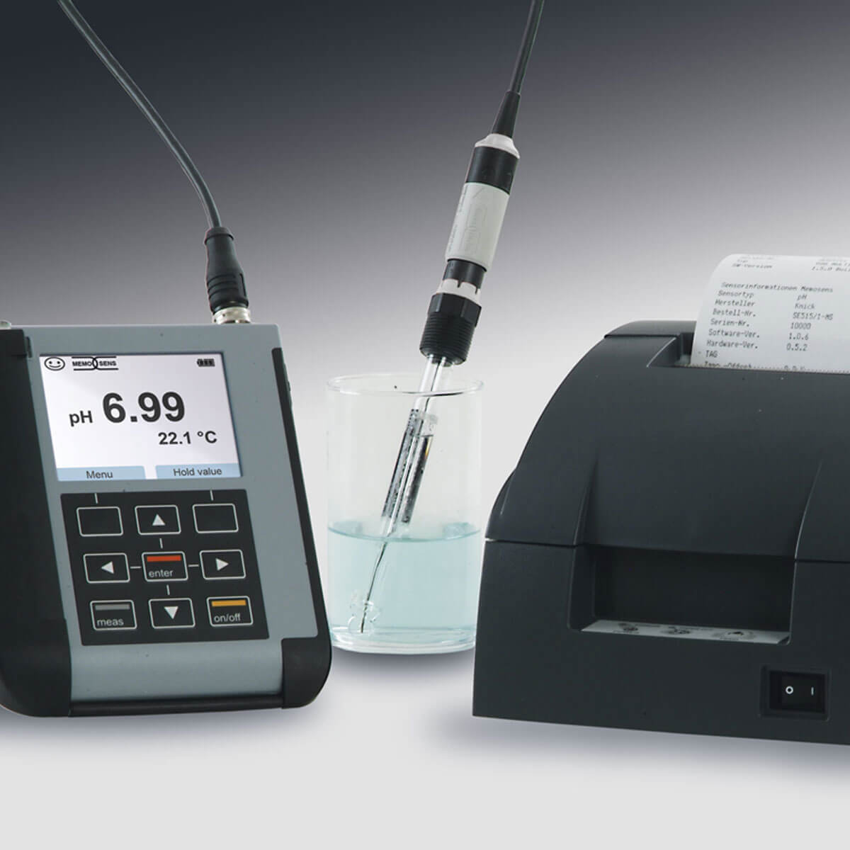 portable multiparameter analyser