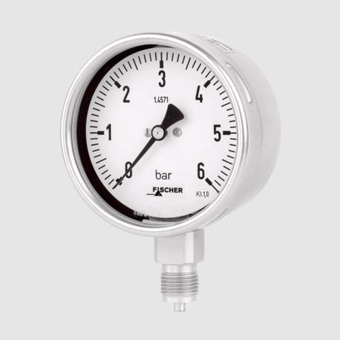 Pressure gauge for SF6