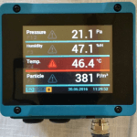 Touch Panel Process Indicator