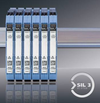 Galvanic isolators for instrumentation control panels