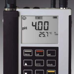 Intrinsically Safe Portable pH Meter