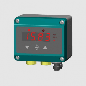 differential pressure transmitter with digital display
