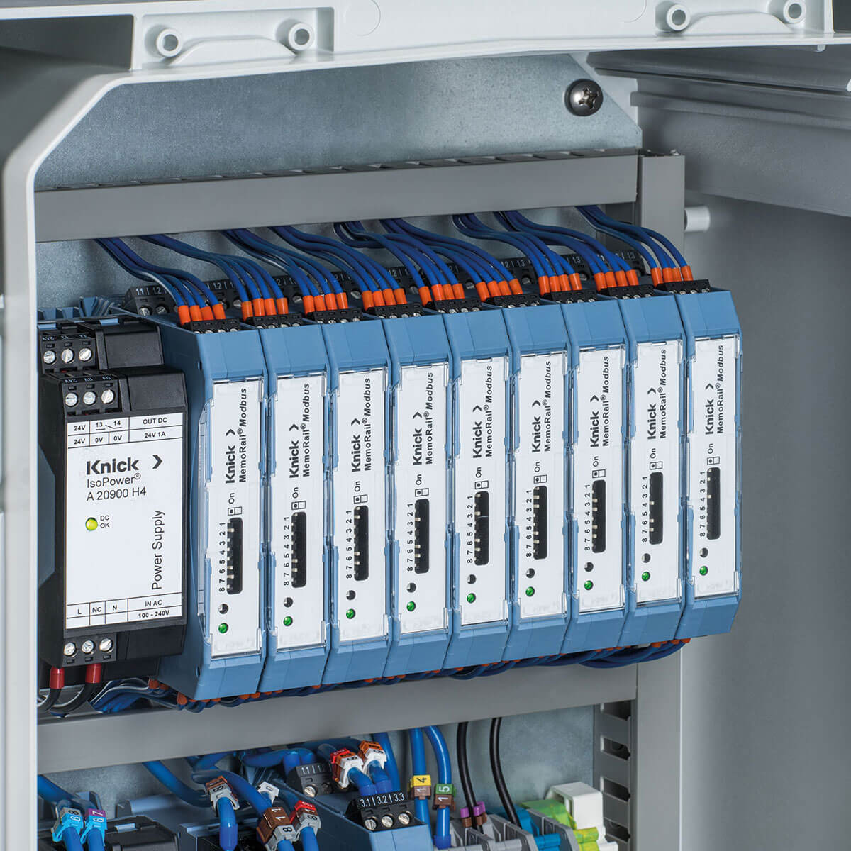 Dual Channel Multiparameter Analyzer with Modbus